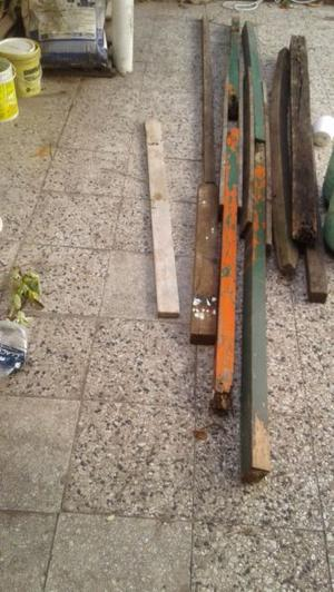 postes de madera para cerco