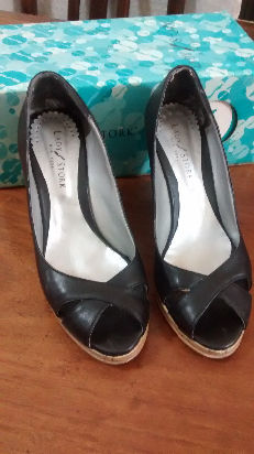 zapatos lady stork - poco uso - nro. 37