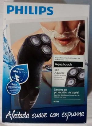 Afeitadora Philips Aquatouch AT759