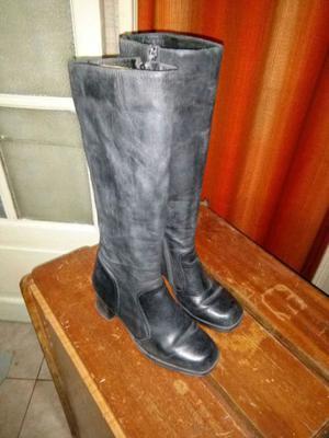 Botas de mujer de cuero talle 37