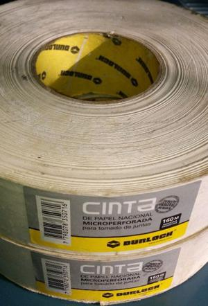 CINTA DE PAPEL DURLOCK MICROPERFORADA, 160M X 50MM