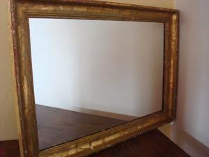 Espejo con marco de madera p decoraci n o posot class for Espejo marco dorado