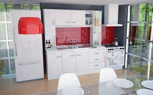 Kit Cocina Bajo Mesada + Alacenas 1.80m Premium