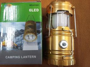 LÁMPARA LINTERNA LED 2 EN 1