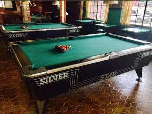 """Mesa de Pool Profesional """"Silver Star"""" Excelente Estado!!"""