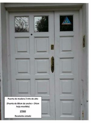 Porton de garage y puerta de entrada