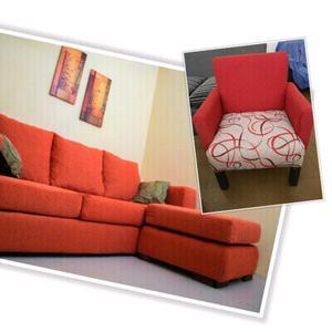 Sofa Esquinero + Sillon matero. Oferta!!