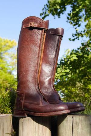 Vendo botas de polo Giribet usadas doble suela T 37 y 38