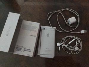Vendo iPhone 6 completo en caja impecable 9 puntos poco uso