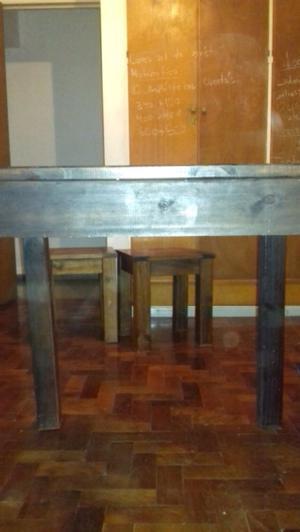 Vendo mesa + mesa tv