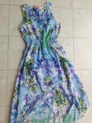 Vestido de fibrana sin uso