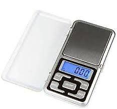 balanza digital pesa hasta 500 gr,nueva