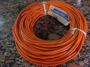 cable tipo taller naranja 2 x 0,75 mm