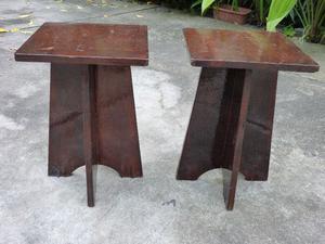 Banqueta de madera en sur muebles rosario posot class - Limpieza de madera barnizada ...