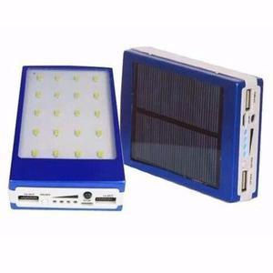 Cargador Portatil Solar Power Bank Externo mah con