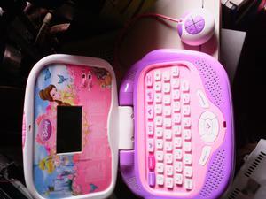 Laptop didáctica para niñas