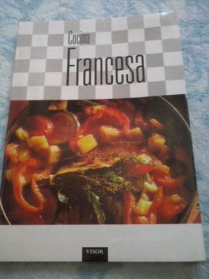 Libro de cocina Francesa Nuevo