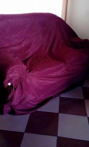 Liquido funda bordó para sillón de 2 cuerpos seminueva -