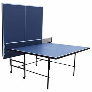 Mesa De Ping Pong Profesional Plegable Con Ruedas
