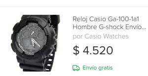 Reloj casio de hombre
