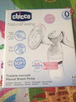 Sacaleches manual Chicco Natural Feeling