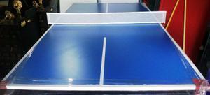 Tapa De Ping Pong P/ Pool De 1.85 X 1.10 Melamina 18mm C/red