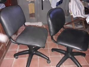 Vendo 2 sillas para escritorio casi nuevas