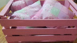 Vendo sabanitas bolso y almohadones para bebes