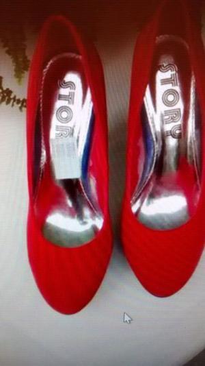 Zapatos Importados Nuevos, N° 39, de gamuza