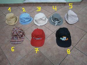 gorras en excelente estado con viseras