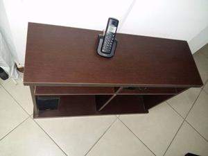 mueble bajo tv en melamina