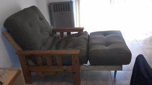 sillon futon plegable