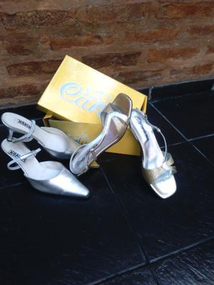 2 pares!!Hermosos Zapatos de fiesta !!