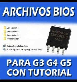 Archivos Binarios G3,g4,g5 (solución Luces Y Pantalla