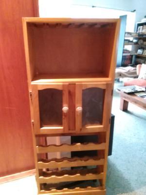 Bodega vinoteca copero estante repisa posot class for Mueble bodega