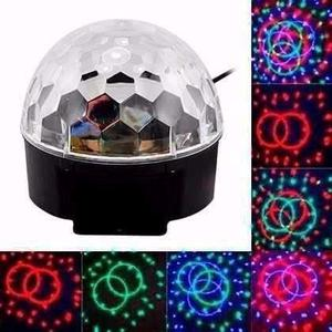 Bola Esfera Magica Led Rgb Crystal Audioritmica Magic