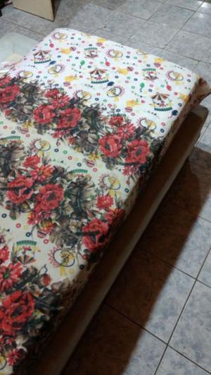 Colchón 1 Plaza De Goma Espuma, De Buen Espesor! Muy Comodo