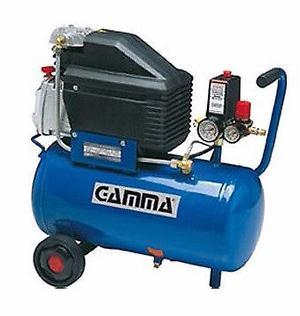 Compresor de aire Gamma de 24 litros 2 hp nuevo.