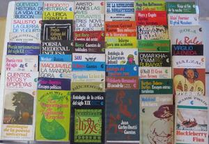 Lote De 45 Libros. Biblioteca Básica Universal