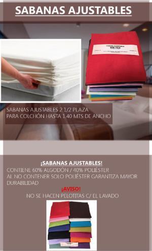 Sabana Ajustable 2 1/2 Plaza