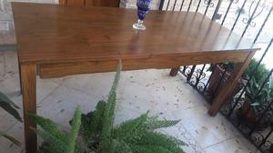 Vendo mesa madera watambú