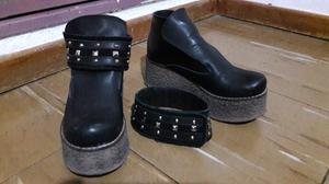 Zapato Negro taco