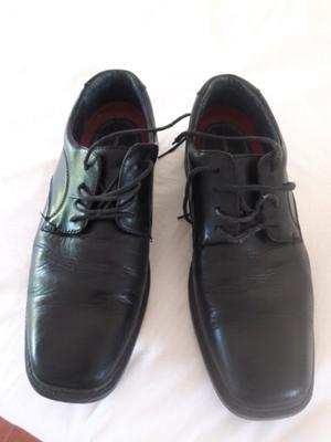 Zapatos Hush Puppies Formal Negros Nr44 muy buenos