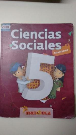 Ciencias Sociales 5 Bonaerense Mandioca