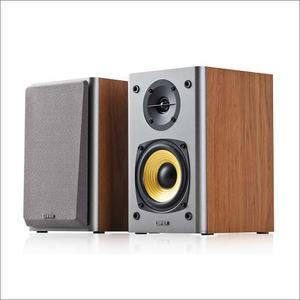 Edifier R T4 Brown Wood Parlante Woofer 4 Pulg., 24w Rms