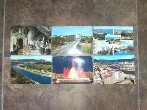 Lote de 35 postales españolas antiguas