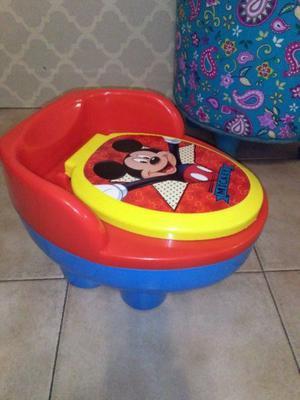 Pelela de Mickey Mouse desmontable