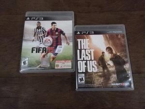 The Last Of Us Y Fifa 15 Ps3 Fisicos Originales!!