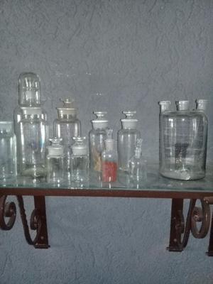 VENDO botellas antiguas de farmacia