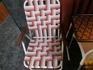 Vendo 2 sillones de jardin de 3 posiciones en buen estado